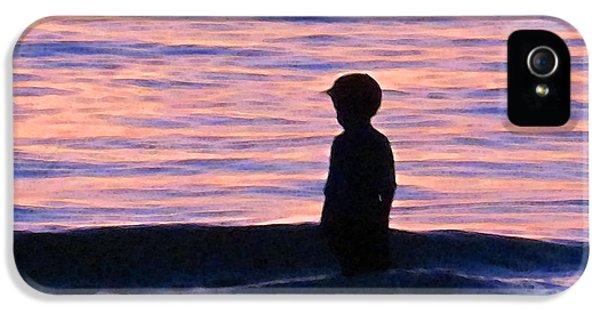 Sunset Art - Contemplation IPhone 5s Case