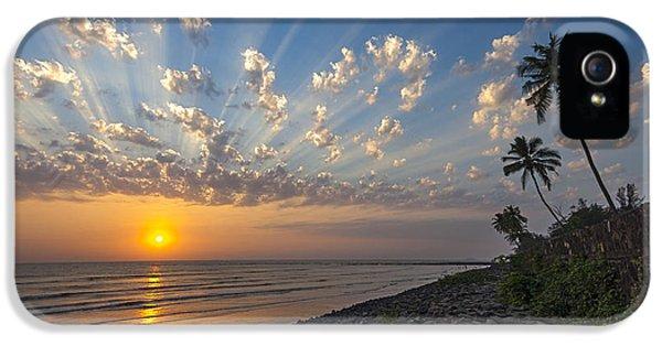 Sunset At Alibag, Alibag, 2007 IPhone 5s Case by Hitendra SINKAR
