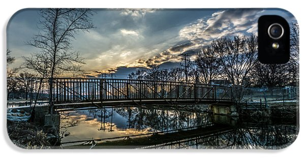 Sunset Bridge 2 IPhone 5s Case