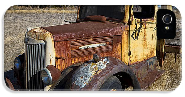 Super White Truck IPhone 5s Case by Garry Gay