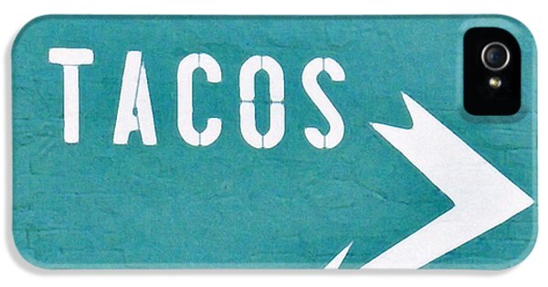 Tacos IPhone 5s Case by Art Block Collections
