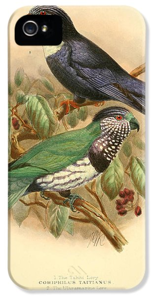 Parakeet iPhone 5s Case - Tahiti Lory by Dreyer Wildlife Print Collections