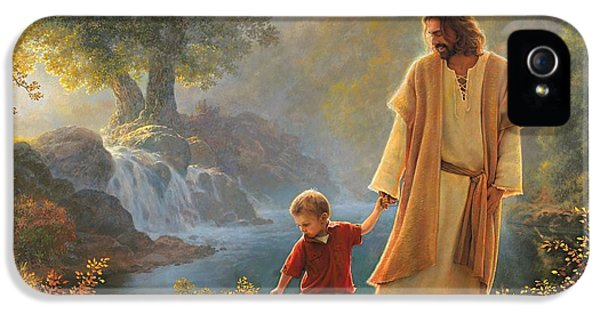iPhone 5s Case - Take My Hand by Greg Olsen