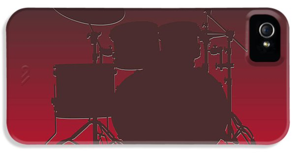 Tampa Bay Buccaneers Drum Set IPhone 5s Case by Joe Hamilton