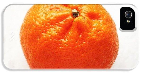 Bright iPhone 5s Case - Tangerine by Matthias Hauser