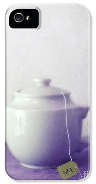Tea Jug IPhone 5s Case by Priska Wettstein
