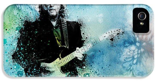 Eric Clapton iPhone 5s Case - Tears In Heaven 3 by Bekim Art