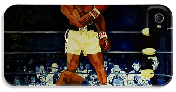 Sonny iPhone 5s Case - The 2nd Fight  by Charis Kelley
