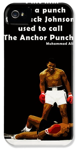 Sonny iPhone 5s Case - The Anchor Punch by Mark Rogan