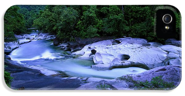 Far North Queensland iPhone 5s Case - The Babinda Boulders Is A Fast-flowing by Paul Dymond