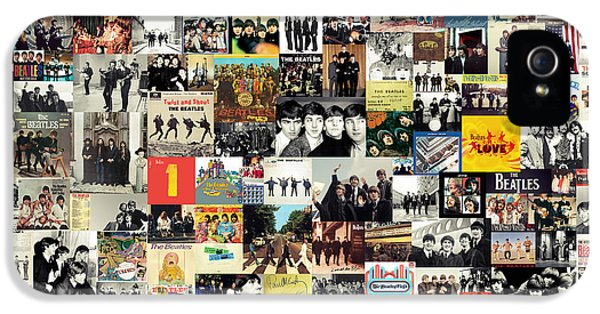 The Beatles Collage IPhone 5s Case