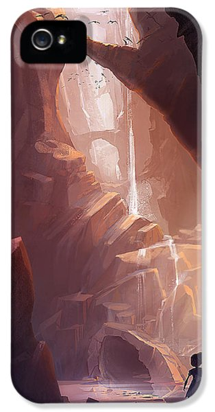 Fairy iPhone 5s Case - The Big Friendly Giant by Kristina Vardazaryan