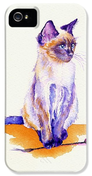 The Catmint Mouse Hunter IPhone 5s Case by Debra Hall