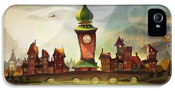 Clock iPhone 5s Case - The Clock Tower by Kristina Vardazaryan