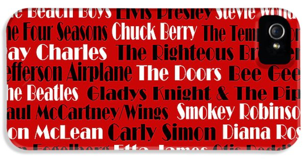 Sonny iPhone 5s Case - The Faces Of Rock And Roll 2  by Andee Design