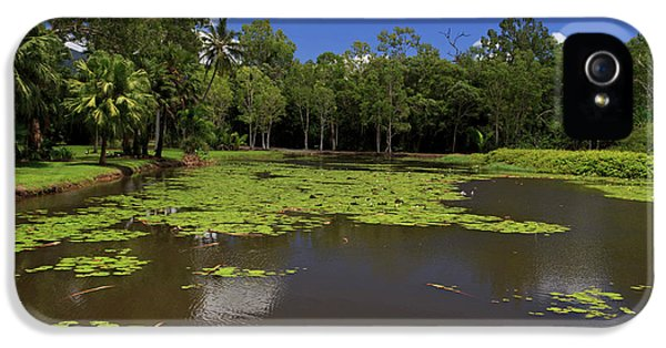 Far North Queensland iPhone 5s Case - The Fresh Water Lake Section by Paul Dymond