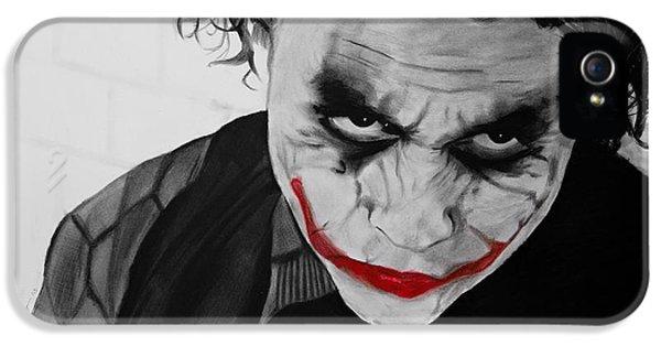 The Joker IPhone 5s Case by Robert Bateman