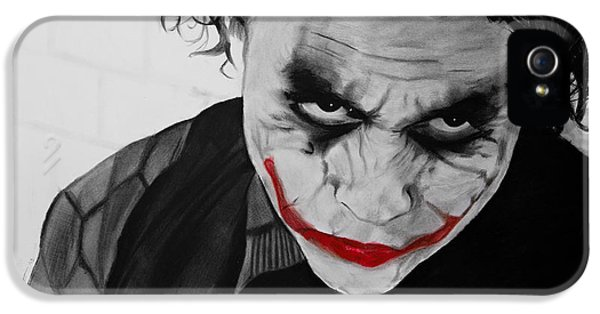 The Joker IPhone 5s Case by Robert Bateman