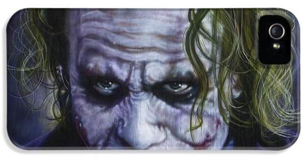 The Joker IPhone 5s Case by Tim  Scoggins