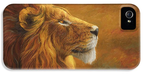 The King IPhone 5s Case by Lucie Bilodeau