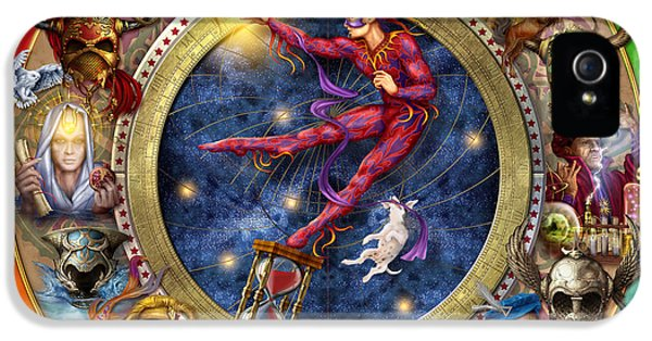 The Legacy Of The Devine Tarot IPhone 5s Case by Ciro Marchetti