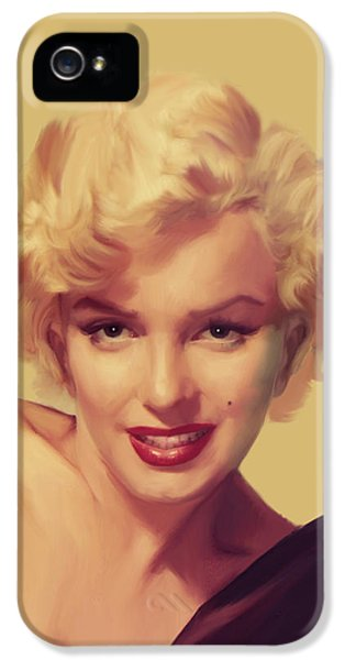 The Look In Gold IPhone 5s Case by Chris Consani