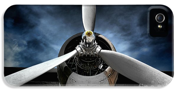 Airplane iPhone 5s Case - The Mission by Olivier Le Queinec