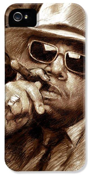 Biggie iPhone 5s Case - The Notorious B.i.g. by Viola El
