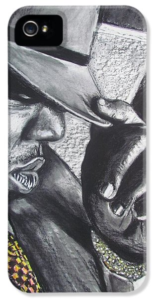 Biggie iPhone 5s Case - The Notorious B.i.g.  by Eric Dee