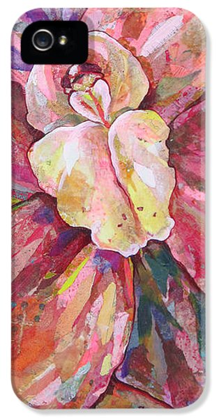 Flowers iPhone 5s Case - The Orchid by Shadia Derbyshire