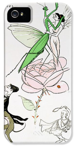 Grasshopper iPhone 5s Case - The Poets Corner by Sem