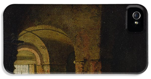Dungeon iPhone 5s Case - The Prisoner, C.1787-90 Oil On Canvas by Joseph Wright of Derby