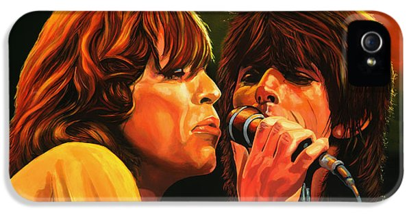 Rolling Stone Magazine iPhone 5s Case - The Rolling Stones by Paul Meijering