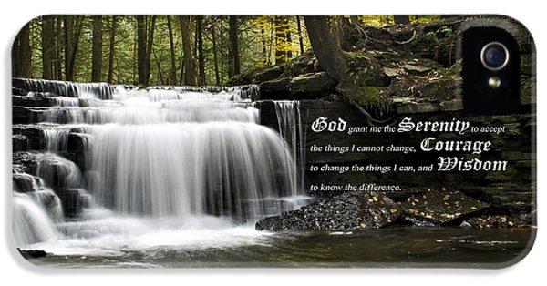 The Serenity Prayer IPhone 5s Case
