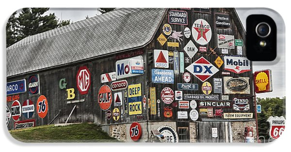 The Sign Barn IPhone 5s Case by Ricky L Jones