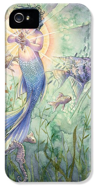 Seahorse iPhone 5s Case - The Talisman by Sara Burrier