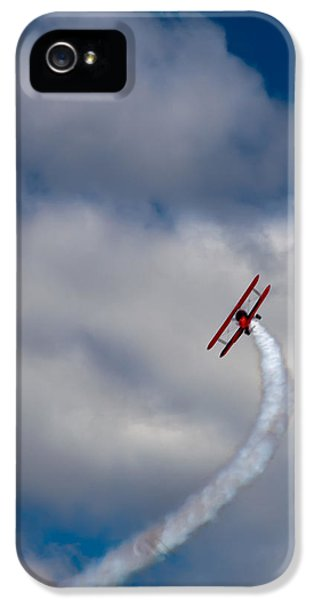 Airplane iPhone 5s Case - The Vapor Trail by David Patterson
