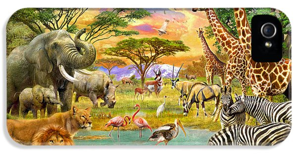 The Watering Hole IPhone 5s Case