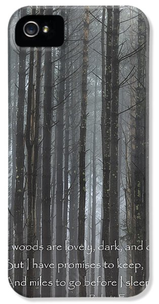 The Woods IPhone 5s Case