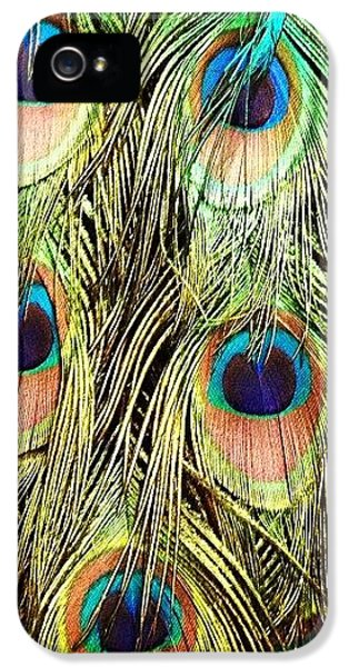 Peacock Feathers IPhone 5s Case