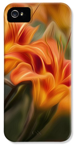 Tiger Lily IPhone 5s Case by Bill Wakeley