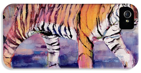 Tigress, Khana, India IPhone 5s Case by Mark Adlington