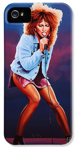 Rhythm And Blues iPhone 5s Case - Tina Turner by Paul Meijering