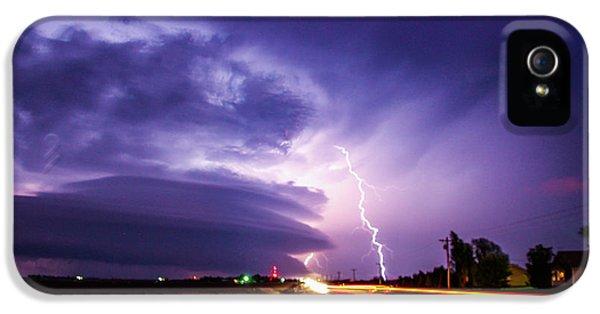 Nebraskasc iPhone 5s Case - Tornado Warning In Northern Buffalo County by NebraskaSC