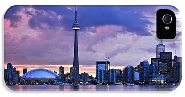 Toronto Skyline IPhone 5s Case