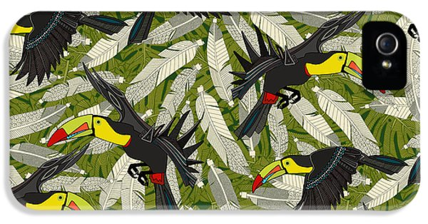 Toucan Jungle IPhone 5s Case