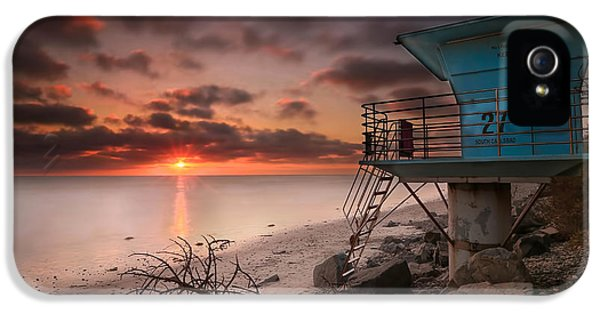 Water Ocean iPhone 5s Case - Tower 27 by Larry Marshall