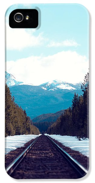 Train To Mountains IPhone 5s Case by Kim Fearheiley