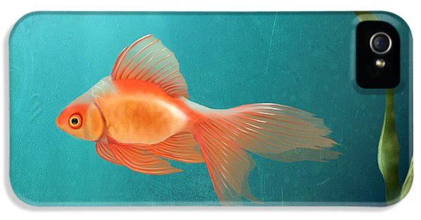 Goldfish iPhone 5s Case - Tranquility by April Moen
