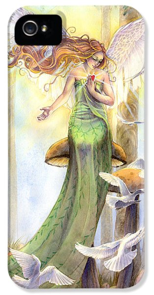 Fantasy iPhone 5s Case - Translucence  by Sara Burrier